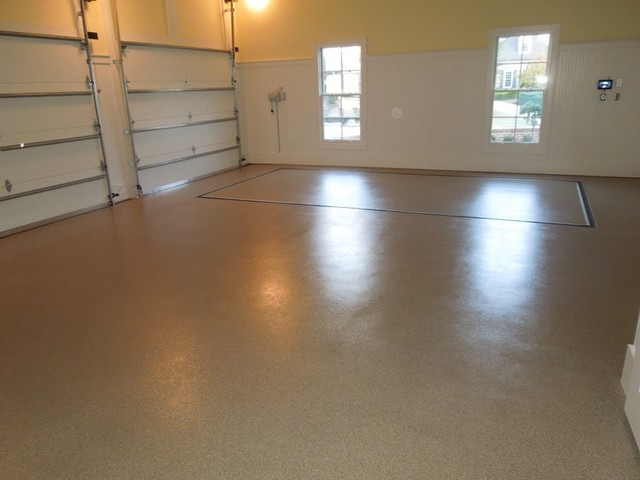 Granite Garage Floors Auto Lifts and Elevator Installs modern-garage-and-shed