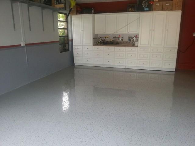 Granite Garage Floors Terrazzo Finish Modern Garage And Shed