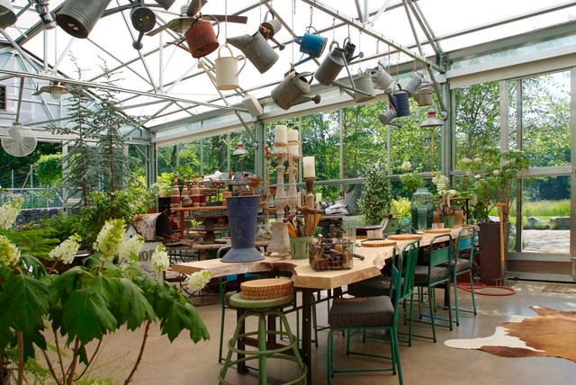 Greenhouse Living Industrial Garden Shed And Building