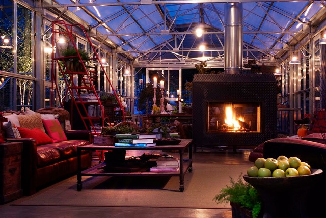 Greenhouse Living - Industrial - Shed - Philadelphia - by Groundswell Design Group Inc.