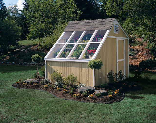 Greenhouse Sheds - Traditional - Shed - Other - by Backyard Buildings