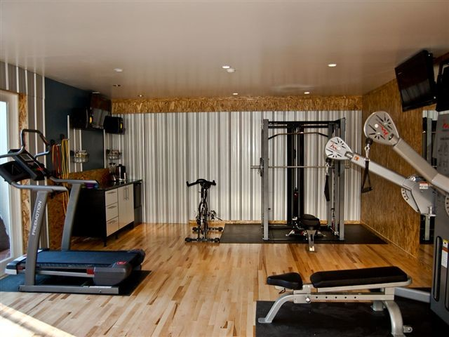 Gym garage traditional and shed los angeles