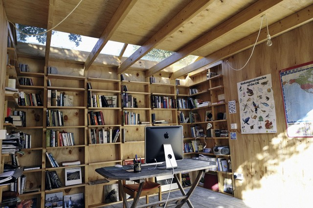Hackney Shed Eclectic Garage And Shed London By