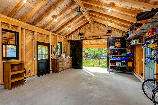 Historic Garage Remodel Rustic Shed Boise By King Building