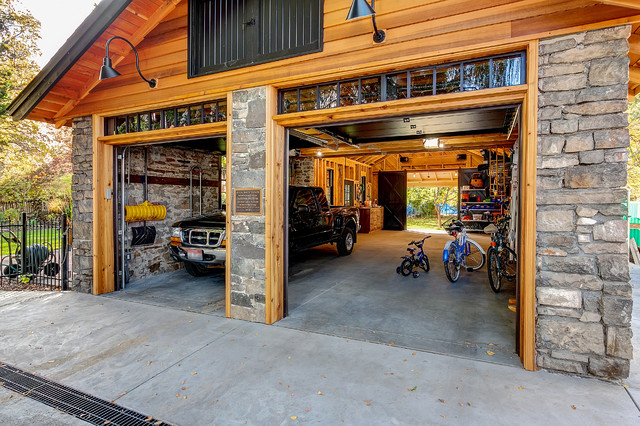 Historic Garage Remodel craftsman-shed