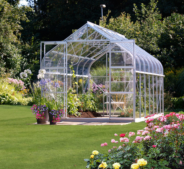 Hobby Greenhouse Kits Traditional Garden Shed And