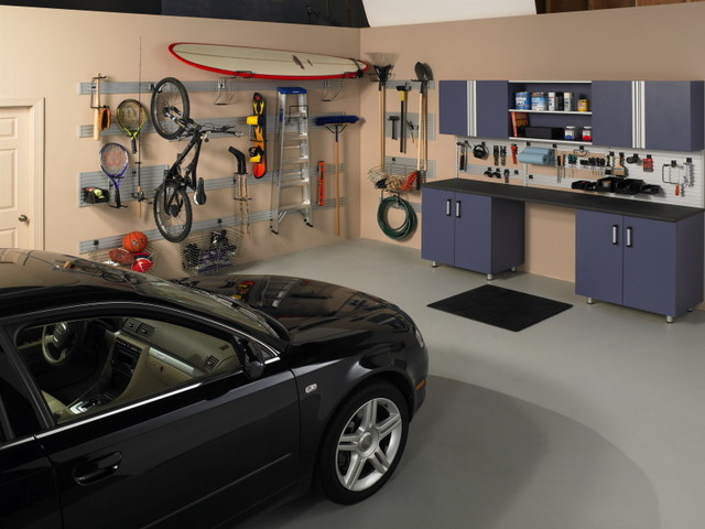 HOME ORGANIZERS - Contemporary - Garage And Shed - chicago - by THE CLOSET DEPOT Corp.