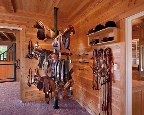 Tack Room And Feed Room In Horse Barn Home Design Ideas