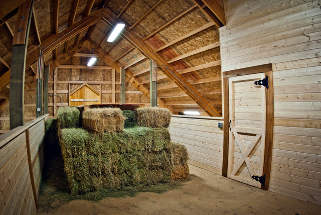 Horse Barn Hay Loft Country Garden Shed And Building