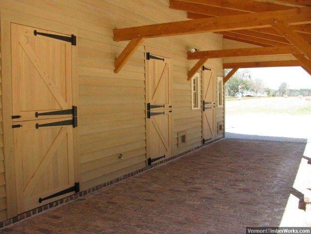 Horse Barn - Country - Garden Shed and Building - Charleston