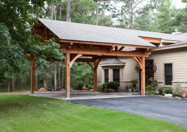 Houston Timber Frame Traditional Shed Houston By