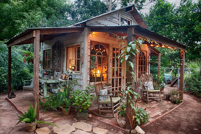 Gartenhaus Shabby Chic s garden shed shabby chic style garden shed and building