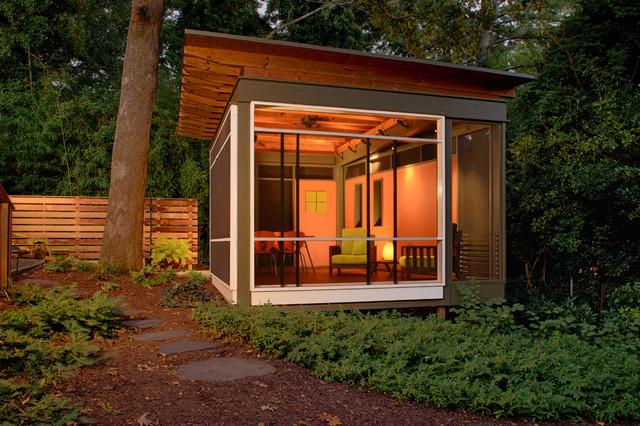 La Casita Contemporary Garage And Shed Atlanta By Axios Architecture LLCSteve Robinson