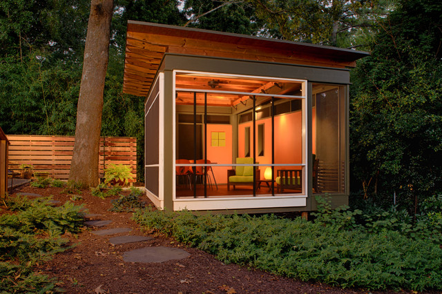 La Casita Contemporary Porch Atlanta By Axios