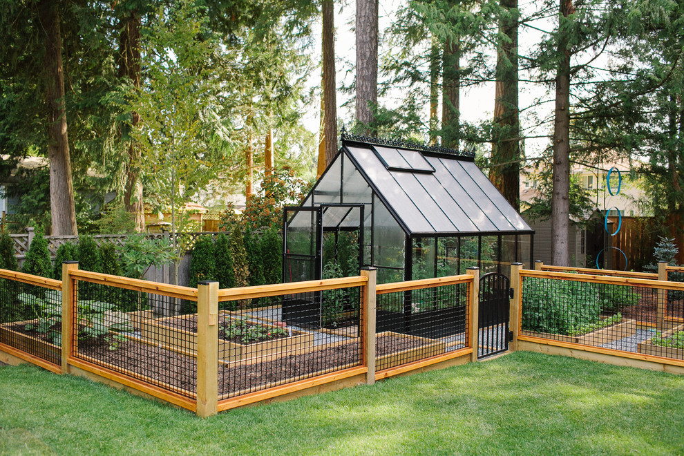 Inspiration for a country detached greenhouse remodel in Vancouver