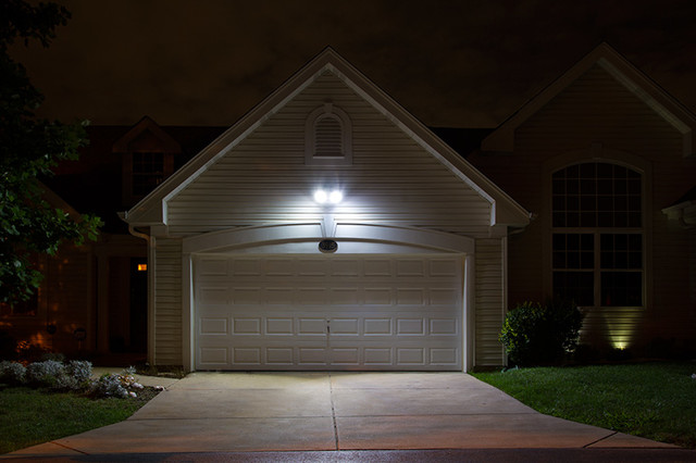 Led garage and driveway lighting garden shed and building