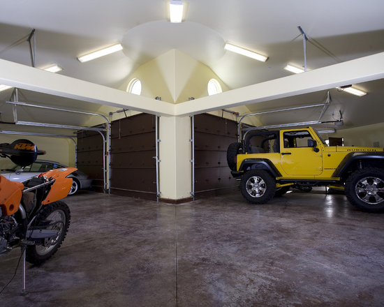 L shaped garage home design ideas pictures remodel and decor for L shaped garage