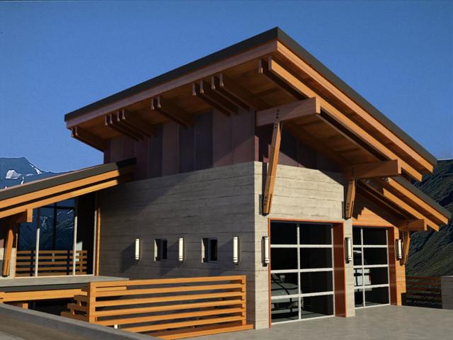 Macpherson Prospect Revelstoke Mountain Resort Modern