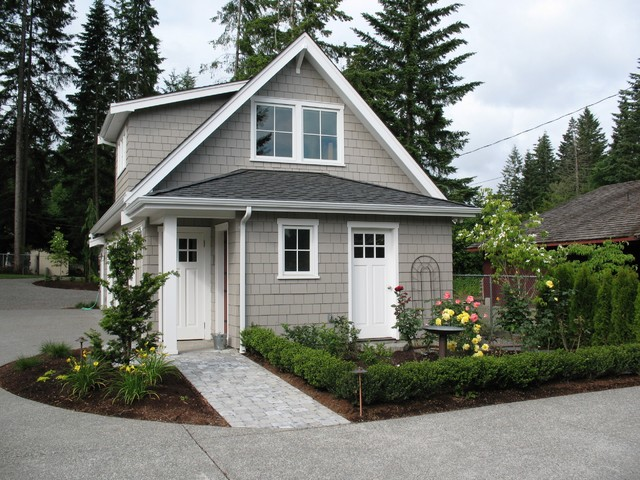 Malone's Landscape Design | Build traditional-garage-and-shed