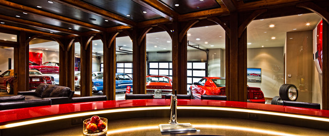 MAN CAVE - DREAM GARAGE contemporary-garage-and-shed
