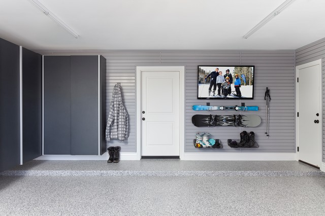 Man Cave Storage Cabinets : Man cave garage contemporary and shed toronto