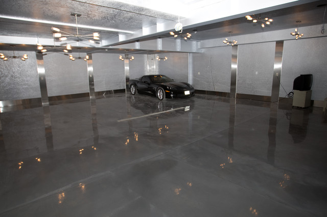 Man Cave Modern Garage And Shed Toronto By In2walls