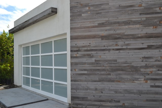 Mansfield House contemporary-garage-and-shed