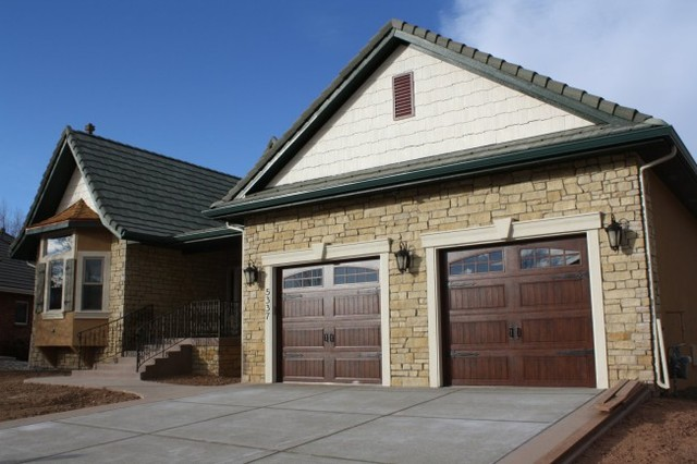 Loveland's Castle traditional-garage-and-shed