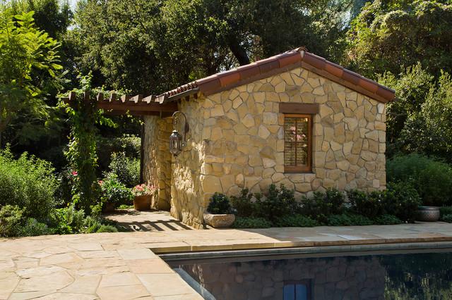 Marlboro Road   Pool House Mediterran Gartenhaus