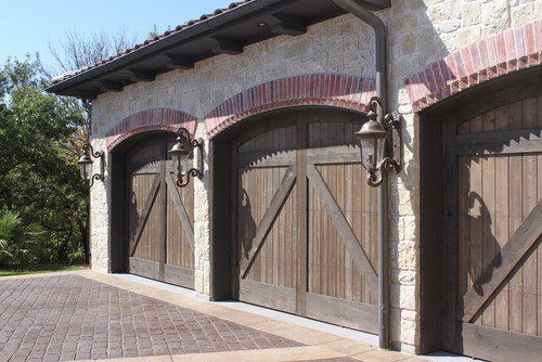 Showcase your garage door with these curb appeal tips for Mediterranean garage doors