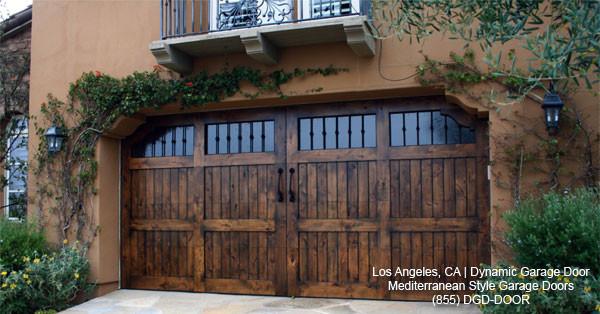 Mediterranean Garage Doors Custom Architectural Designs