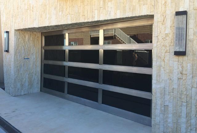 Metal Gl Garage Doors Modern Shed Orange County By