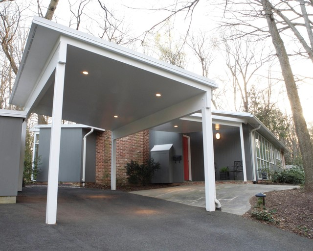 Mid century modern midcentury garage and shed dc for Mid century modern garage