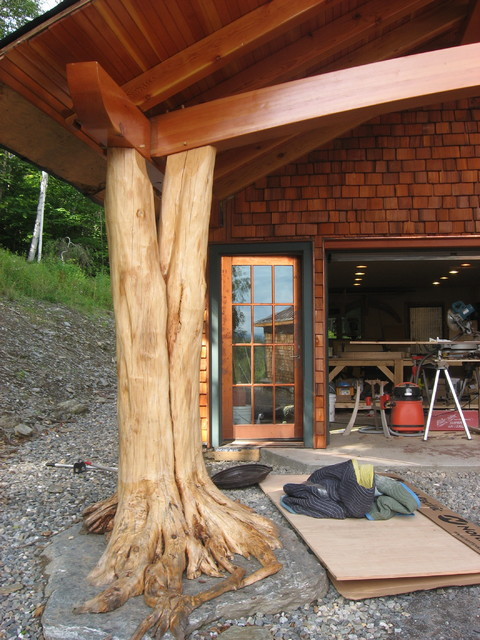 Middlesex Timber Frame Carport Eclectic Granny Flat Or