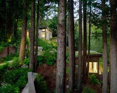 Mill Valley Cabins contemporary-garage-and-shed