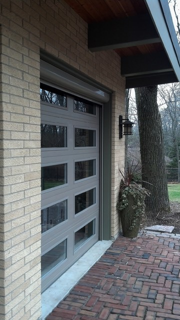 Mirage Motorized Screens on Garage contemporary-garage-and-shed