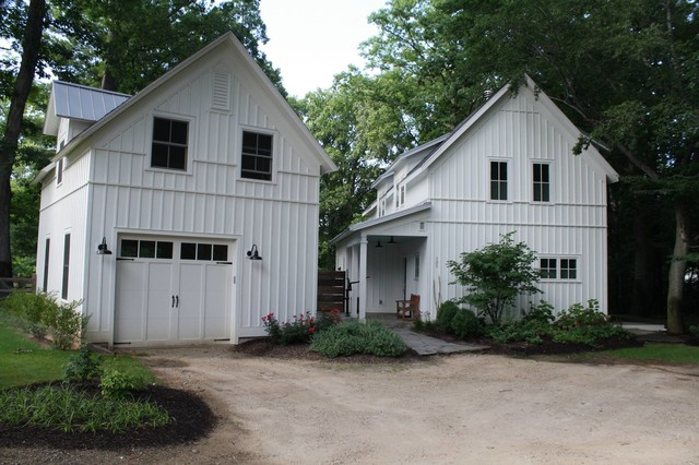 Modern Farmhouse Farmhouse Garage And Shed Other