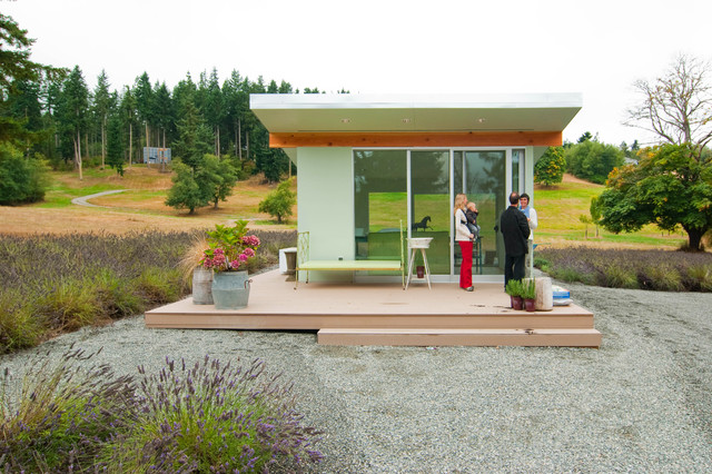 Whidbey Island Potting Shed modern garage and shed