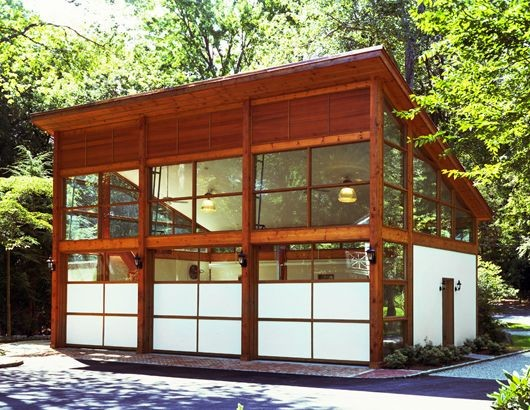 Automotive-Related Architecture: Modern Garage Doors