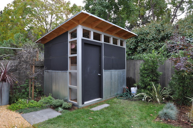Modern Garage And Shed Modern Garden Shed And Building