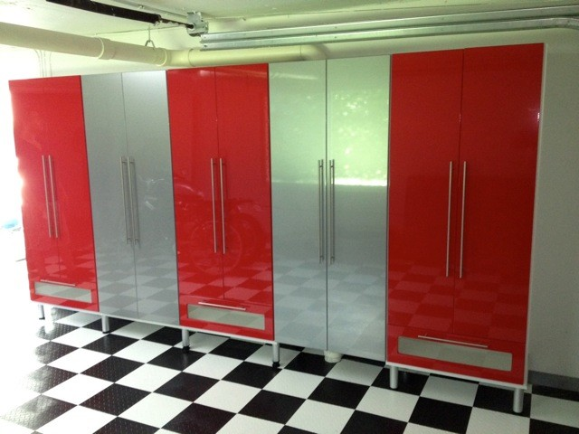 Modern Garage Closet Factory Miami - Modern - Garage And ...
