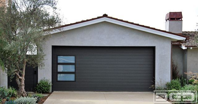 Modern Garage Door U0026 Gate Project For An Eclectic Designed Home In Newport  Beach Contemporary