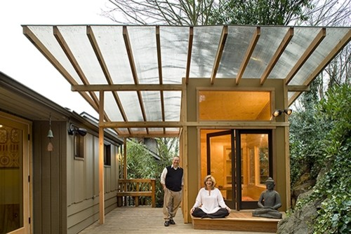Meditation Hut Modern Granny Flat or Shed Seattle by Greif