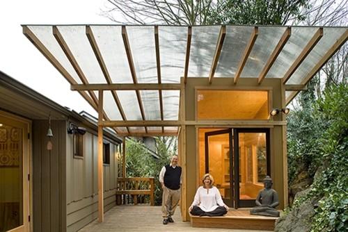 Meditation Hut  exterior