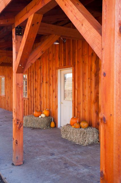 Multi-Purpose Barn in Iowa farmhouse-garage-and-shed