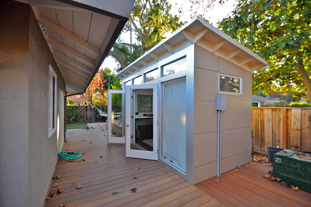 Music Studio Shed Office 8x14 Modern Shed San