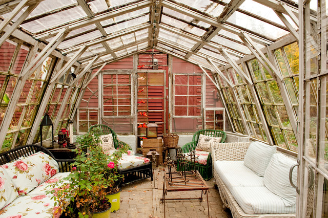 Farmhouse Sunroom by Mary Prince
