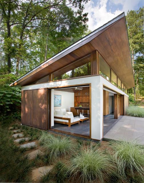 modern guest house. Modren House Nancy Creek Guesthouse And Pool Modernfoerraad Inside Modern Guest House H
