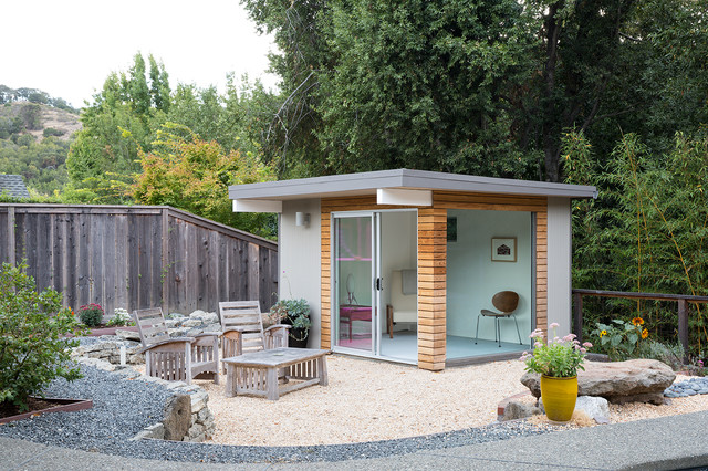 Norcal eichler renovation midcentury shed by gast for Mid century modern shed