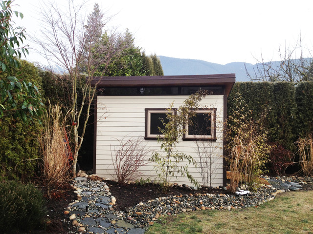 north vancouver 8x12 garden shed contemporary shed vancouver